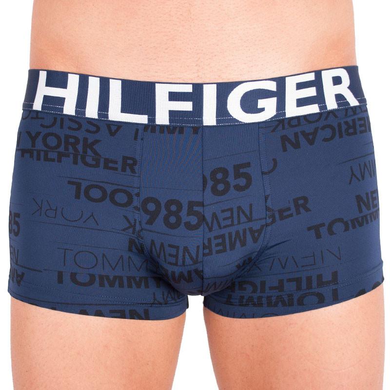 Pánské boxerky Tommy Hilfiger LR trunk logo navy blazer L