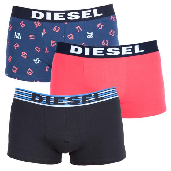 3PACK pánské boxerky Diesel vícebarevné (00SAB2-0JARC-02)