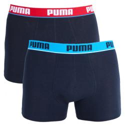 2PACK pánské boxerky Puma Black Long