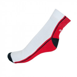 Ponožky Infantia Streetline červeno bílé