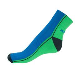 Ponožky Infantia Streetline zeleno modré