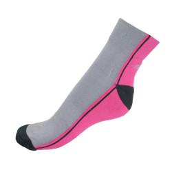 Ponožky Infantia Streetline růžovo šedé