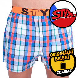Pánské trenky Styx sportovní guma vícebarevné (B623)