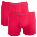 2PACK pánské boxerky Levis červené (951007001 072)