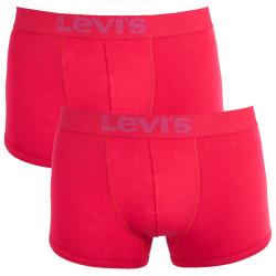 2PACK pánské boxerky Levis red