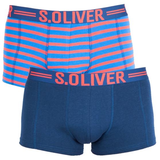 2PACK pánské boxerky S.Oliver vícebarevné (2R.895.97.4228.14B1)