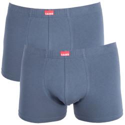 2PACK pánské boxerky S.Oliver elephant grey