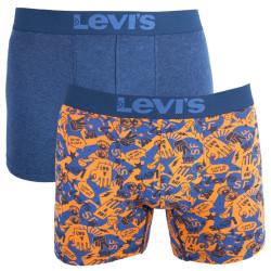 2PACK pánské boxerky Levis vícebarevné (971040001 455)