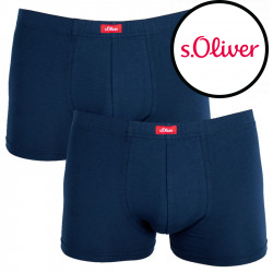 2PACK pánské boxerky S.Oliver blue