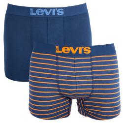 2PACK pánské boxerky Levis vícebarevné (971001001 455)