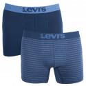 2PACK pánské boxerky Levis modré (971023001 979)