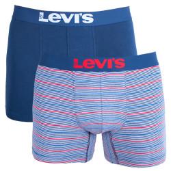 2PACK pánské boxerky Levis dress blues