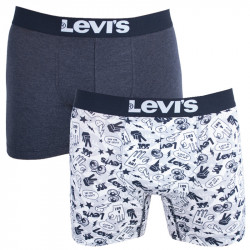 2PACK pánské boxerky Levis vícebarevné (971040001 213)