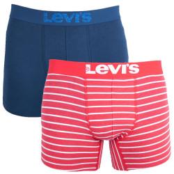 2PACK pánské boxerky Levis chinese red