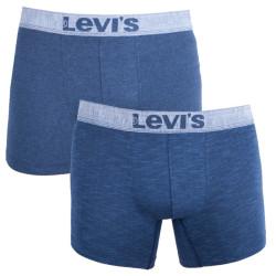 2PACK pánské boxerky Levis modré (971026001 058)