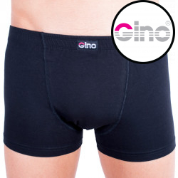 Pánské boxerky Gino s kratší nohavičkou černé
