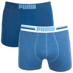 2PACK pánské boxerky Puma modré (651003001 162)