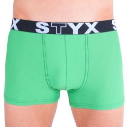 Pánské boxerky styx sport G8 zelené