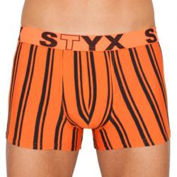 Pánské boxerky Styx sportovní guma nadrozměr vícebarevné (R768)