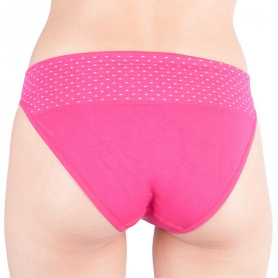 Dámské kalhotky Gina bambusové růžové (00032)