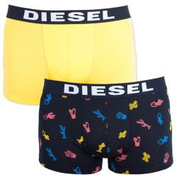 2PACK pánské boxerky Diesel vícebarevné (00S9DZ-0SAQD-01)