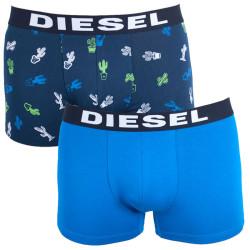2PACK pánské boxerky Diesel vícebarevné (00S9DZ-0SAQD-03)