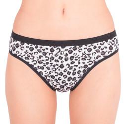 Dámské kalhotky Victoria's Secret high leg brief tygrované