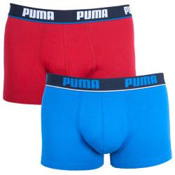 2PACK pánské boxerky Puma blue red short