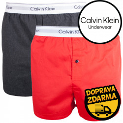 2PACK pánské trenýrky Calvin Klein Modern Cotton Stretch slim fit