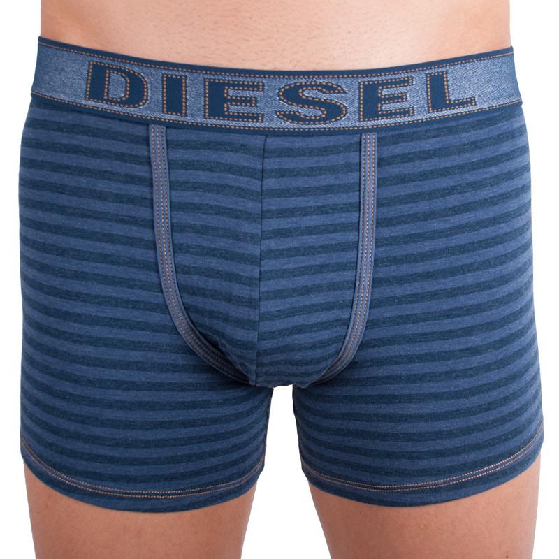 Pánské boxerky Diesel UMBX-Sebastian blue denim L