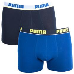 2PACK pánské boxerky Puma blue black long