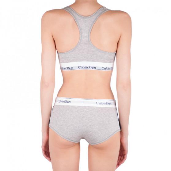 Dámské kalhotky Calvin Klein šedé (QF4485E-020)