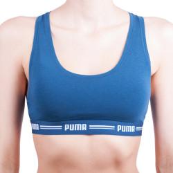 Dámská sportovní podprsenka Puma modrá (574006001 945)