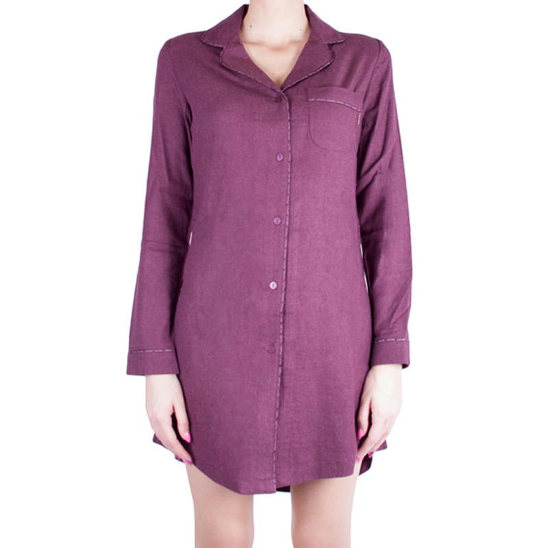 Dámská noční košile Calvin Klein fialová S