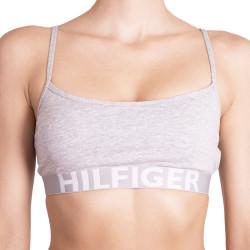 Dámská sportovní podprsenka Tommy Hilfiger bold šedá