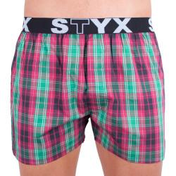 Pánské trenky Styx sportovní guma vícebarevné (B513)