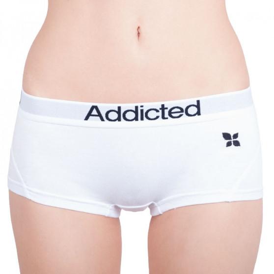 2PACK dámské kalhotky Addicted bílá