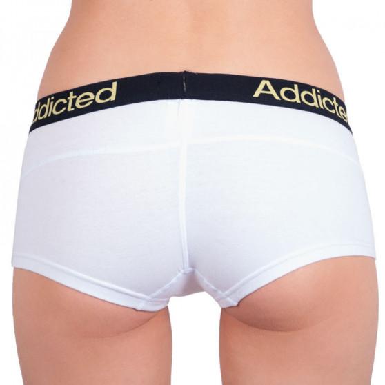 Dámské kalhotky Addicted bílá žlutá