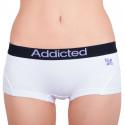 Dámské kalhotky Addicted bílá fialová