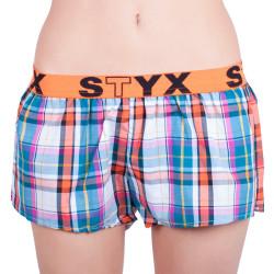 Dámské trenky Styx sportovní guma vícebarevné (T622)
