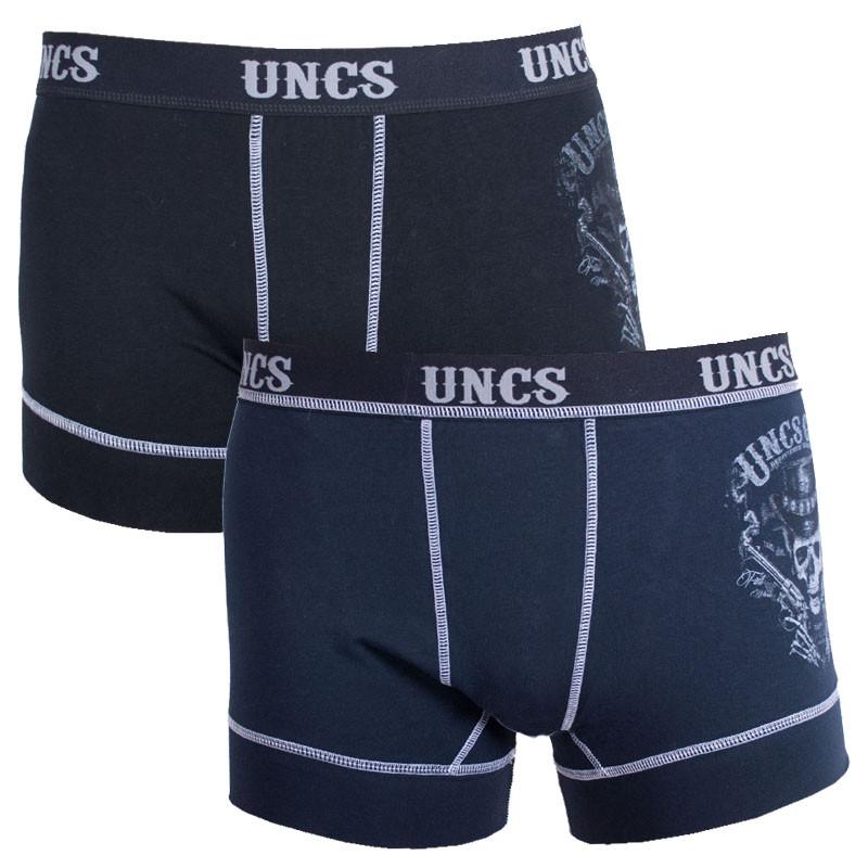 2PACK pánské boxerky UNCS Revolver M