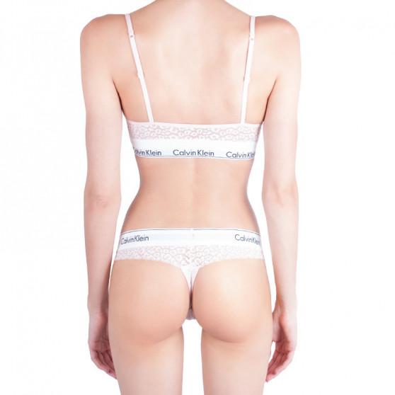 Dámská podprsenka Calvin Klein růžová (QF4691E-2NT)