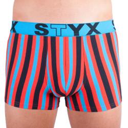 Pánské boxerky Styx sportovní guma vícebarevné (R861)
