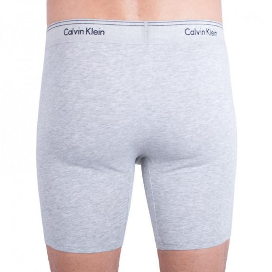 Pánské boxerky Calvin Klein šedé (NB1515A-080)