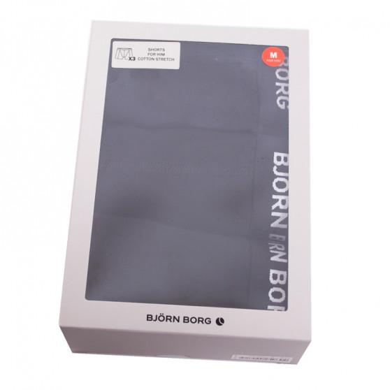 3PACK pánské boxerky Bjorn Borg černé (9999-1024-90011)
