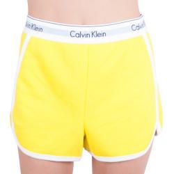 Dámské kraťásky Calvin Klein žluté (QS5982E-9XF)