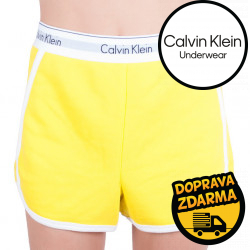 Dámské kraťasy Calvin Klein žluté (QS5982E-9XF)