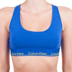 Dámská sportovní podprsenka Calvin Klein Modern Cotton šedá