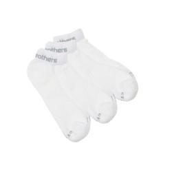 3PACK ponožky Horsefeathers rapid bílé