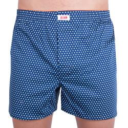 Pánské trenky Gosh modré s bílými puntíky